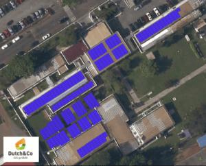 Solar layout Nyaho